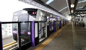 """""""ศักดิ์สยาม"""" เตรียมเคาะราคาค่ารถไฟฟ้า MRT สีม่วง 20 บาทตลอดสาย 19 พ.ย. นี้"""