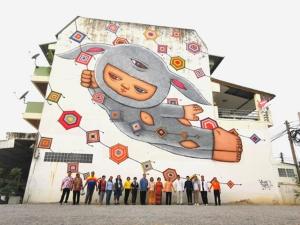"""ว้าว! ชัยภูมิอาร์ตมาก ชม Street Art """"วาดบ้าน แปลงเมือง เล่าเรื่องชัยภูมิ VOL.1"""""""