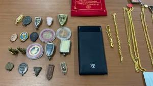 ตำรวจเฮจับผู้ต้องหาจำหน่ายยาไอซ์พ่วงคดีลักทรัพย์