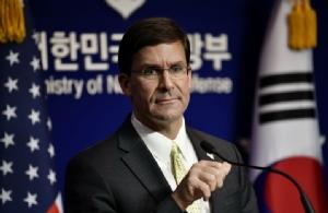 รมว.กลาโหมสหรัฐฯ จี้ 'เกาหลีใต้' เพิ่มงบอุดหนุนทหารมะกัน-คงสัญญาแบ่งปันข่าวกรองกับญี่ปุ่น