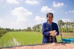 พรทิพย์ ทองหล่อ เกษตรกรผู้เข้าร่วมโครงการฯ  จากจังหวัดสิงห์บุรี