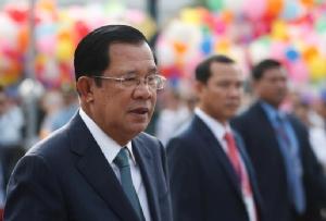 สมเด็จอัคคมหาเสนาบดีเดโช ฮุน เซน นายกรัฐมนตรีกัมพูชา