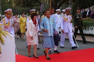 กรมสมเด็จพระเทพฯ ทรงเปิดงานกาชาด ประจำปี 2562