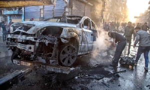 """คาร์บอมสังหาร 19 ชีวิตใน """"พื้นที่ควบคุมของตุรกี"""" ทางตอนเหนือซีเรีย"""