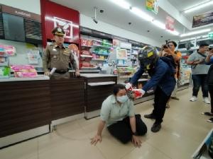 รวบหนุ่มโคราชบุกเดี่ยวปล้นเงินร้าน7-11 อ้างตกงานเงินไม่พอใช้