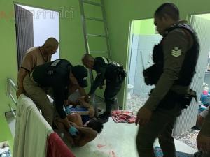 ตำรวจหาดใหญ่บุกจับหนุ่มเมาคลั่งคาบ้านพัก หลังก่อเหตุขโมยรถ จยย.ชาวบ้าน