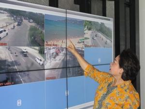 เทศบาลเมืองป่าตองตั้งศูนย์ควบคุมและสั่งการระบบรักษาความปลอดภัย สร้างความมั่นใจให้นักท่องเที่ยวและประชาชน