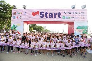 ยกขบวนกระหึ่มชายหาดพัทยา Hello Kitty Run Pattaya 2019