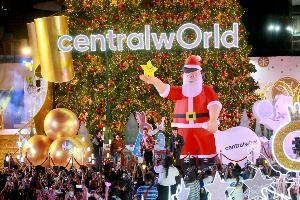 """เริ่มแล้ว! สัญลักษณ์ของเทศกาลแห่งความสุขที่ """"เซ็นทรัลเวิลด์"""" กับงานเปิดไฟต้นคริสต์มาสแห่งปี"""
