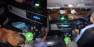 สะเทือนใจ! โชเฟอร์แท็กซี่เลี้ยงเดี่ยว หอบลูกนอนเบาะหน้ารถ ทำผู้โดยสารน้ำตาซึม