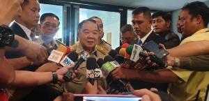 """เขามาก็มา """"บิ๊กป้อม""""บอกไม่ต้องจับตา""""โอ๊ค""""ฟังพิพากษาฟอกเงินกรุงไทย"""