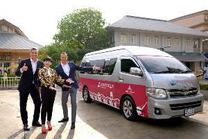 เผยโฉม Asiatique Shuttle Van รับฤดูกาลท่องเที่ยว