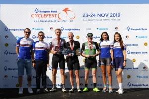 """คณะนักกีฬาคนพิการทีมชาติไทย ร่วมสร้างปรากฏการณ์ปั่นแนวไลฟ์สไตล์ """"Bangkok Bank CycleFest 2019"""" สุดยิ่งใหญ่ที่พัทยา"""
