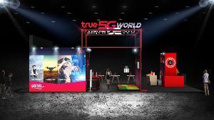 กลุ่มทรู พานวัตกรรม 5G ให้ชาวเชียงใหม่สัมผัสในงานหอการค้าแฟร์