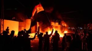 """อิหร่านจี้อิรักจัดการ """"ผู้รุกราน""""อย่างเด็ดขาด หลังเหตุวางเพลิงสถานกงสุล"""