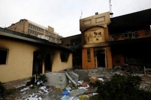 อิรักส่งทหารลงพื้นที่ดูแลความเรียบร้อย หลังผู้ประท้วงบุกเผาสถานกงสุลอิหร่าน