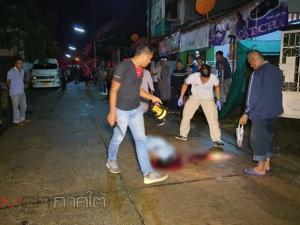 ฆ่าโหด! คนร้ายจ่อยิงชาวบ้านเสียชีวิต 1 ศพที่สุไหงโก-ลก