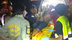 หนุ่มรุ่นออกจากร้านเหล้าถูกรุมทำร้ายสาหัสทองหาย3บาท