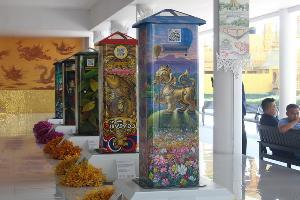ปิดตำนานตู้แดง ! ตู้ไปรษณีย์ยุคใหม่มีทั้งศิลปะที่ชาร์แบตพร้อมคิวอาร์โค๊ดเชียงรายต้นแบบทั่วไทย