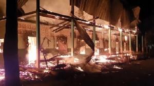 ไฟไหม้โรงเรียนเก่าอายุกว่า 40 ปีวอดทั้งหลัง ต้องหาที่เรียนใหม่ให้ นร.28 ชีวิต