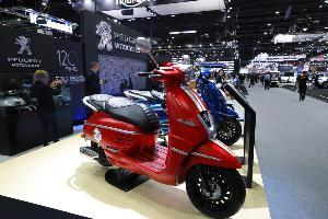 เปอโยต์ ส่งรถสกู๊ตเตอร์ รุ่น DJANGO 150  งาน Motor Expo 2019 ราคา 89,800 บาท
