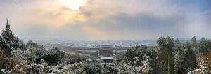 งดงามจับใจ! หิมะระลอกแรกห่มคลุม 'ปักกิ่ง' ขาวโพลนละลานตาทุกทิศทาง