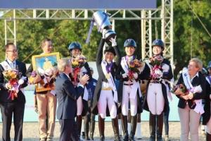 องค์หญิงสิริวัณณวรีฯ ทรงนำทัพคว้าเหรียญทองขี่ม้าศึก FEI Asian Championships Pattaya 2019