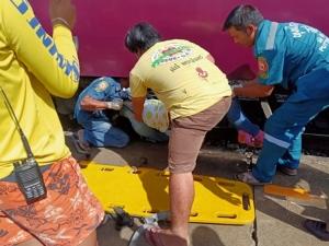 สลด! สาวพิษณุโลกพลัดตกรถไฟเสียหลักล้มร่างมุดใต้ขบวนถูกทับเสียชีวิต