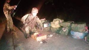 ทหารสกัดคาราวานติดอาวุธ ลอบขนยาบ้าร่วม 2 ล้าน-ไอซ์ 80 กก.เข้าชายแดนเปียงหลวง เชียงใหม่