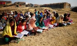 """ฮิวแมนไรท์วอทช์โวย """"เด็กผู้ลี้ภัยโรฮิงญา"""" ถูกลิดรอนสิทธิทางการศึกษา"""