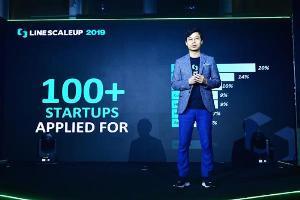 เจเดน คัง รองประธานกรรมการฝ่ายกลยุทธ์ LINE ประเทศไทย ระบุว่ามีผู้สมัครโครงการ LINE ScaleUp 2019 มากกว่า 100 ราย