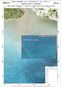 เหตุเรือจมปากร่องแม่น้ำเจ้าพระยา พบน้ำมันเตาลอยในทะเลกว่า 20,000 ลิตร