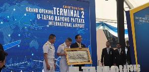 นายกฯ เปิดเทอมินอล 2 สนามบินอู่ตะเภา-พัทยา หนุนอีอีซี ตั้งเป้าเป็นฮับเอเชีย