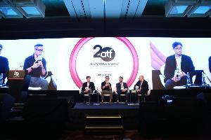 """""""อริยะ พนมยงค์"""" บินร่วมงาน ATF 2019 (Leaders' Summit) และ AAA 2019 (Asian Academy Creative Awards) ที่สิงคโปร์"""