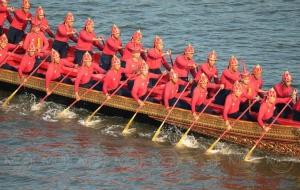 ประมวลภาพ : ซ้อมย่อยขบวนเรือ - ขบวนราบ พระราชพิธีในการเสด็จพระราชดำเนินเลียบพระนคร