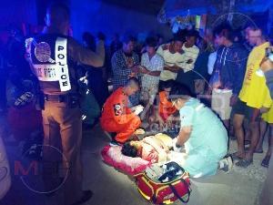 แค่ไก่หาย!แรงงานพม่ายกพวกแทงกันเจ็บ 4 รายซ้อนคาชุมชนต่างด้าวกลางเมืองแม่สอด