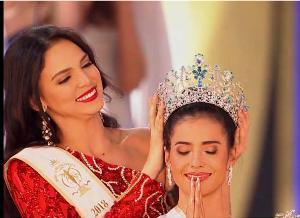 """(ชมคลิป) อีก 1 มงฯ """"แอนโทเนีย โพซิ้ว"""" สร้างประวัติศาสตร์สาวไทยคนแรกคว้ามงกุฎ Miss Supranational"""