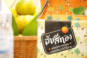 """ขายได้ทุกลูก! ส้มสีทองอินทรีย์ทุ่งช้างการันตีไร้สาร ทำMOUขายผ่าน""""Tops-S&P""""กว่า 200 ตัน"""