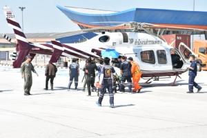 ปลดล็อก ฮ.แพทย์ฉุกเฉิน รับส่งนอกสนามบิน นำร่องมอเตอร์เวย์กรุงเทพ-แหลมฉบัง
