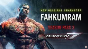 """นักมวยไทย """"ฟ้าคำราม"""" บุกเกมต่อสู้ Tekken 7"""