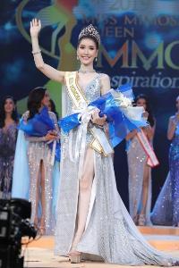 """""""น้องเนิร์ส ปรียาลักษณ์"""" นางงามจิตสาธารณะ มงลง  คว้าตำแหน่ง  Miss Mimosa Queen Thailand 2019"""