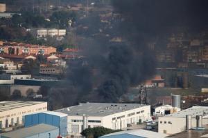 ไฟไหม้โรงงานเคมีในสเปน เร่งอพยพคนออกนอกพื้นที่