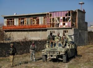 กลุ่มตอลิบานโจมตีฐานทัพสหรัฐฯ ในอัฟกานิสถาน