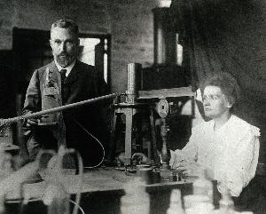 Pierre และ Marie Curie