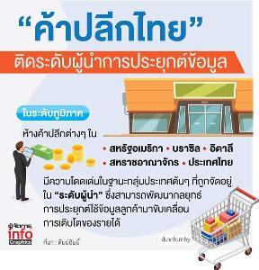 """""""ข้อมูล"""" หัวใจหลักเจาะลูกค้า ค้าปลีกไทยเร่งปั้นช่องทางหาเงิน"""