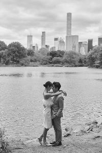 """เผยภาพพรีเวดดิ้ง """"พีเค - โยเกิร์ต"""" หวานกลางนิวยอร์ก น่ารักมาก"""