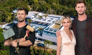 """ส่องบ้านใหม่หลังเบ้อเริ่มของ """"คริส เฮมสเวิร์ธ"""" หลังโดนเมียสั่งห้ามเอาค้อน """"Thor"""" กลับบ้าน"""