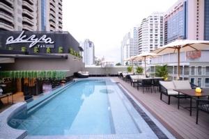"akyra TAS Sukhumvit เปิดตัว ""Rooftop Pool"" สระว่ายน้ำซีทรูเซ็กซี่ พร้อมฉลองเทศกาลแห่งความสุข"