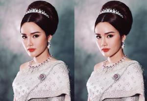 """งดงาม""""หญิง รฐา"""" สวยสง่ากับลุคสาวไทยดุจนางในวรรณคดี"""