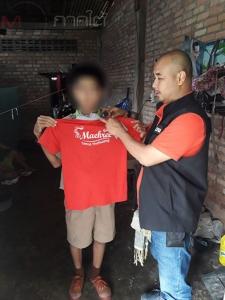 ตร.พัทลุงรวบตัวเด็กชายวัย 13 ปีก่อเหตุขโมยเงินยายตาบอด สารภาพนำเงินไปซื้อข้าวกิน